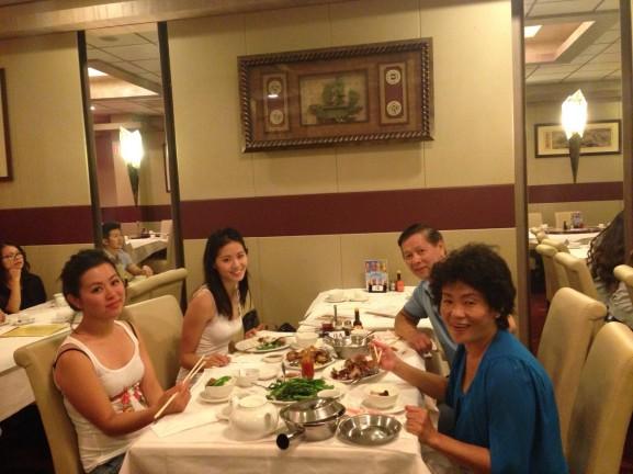Eten met ouders