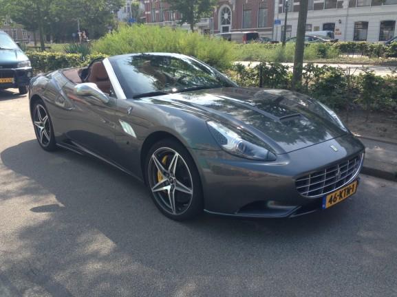 Ferrari den haag mooie auto
