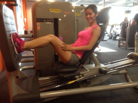 Leg press basic fit nike free run