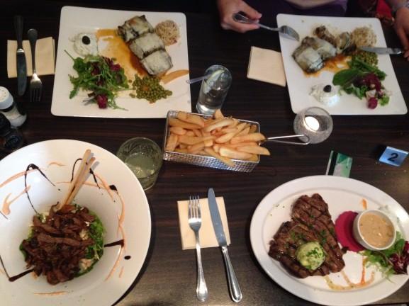 Lekker eten bij de griek