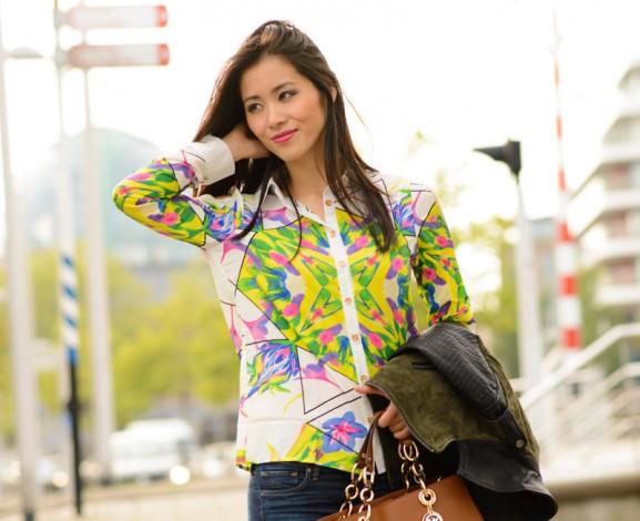 colour-blouse-sheinside-pink-577x470 Outfit: Colour splash blouse