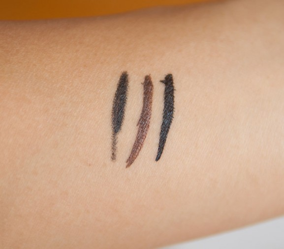 swatches-eyeliner-collistar-577x507 Collistar Italian Beauty herfst-winter collectie 2014