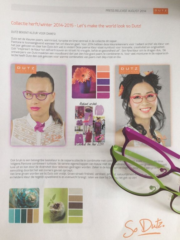 Dutz Eyewear Model My HUong