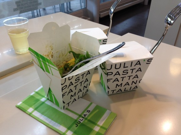 Julias-pasta-zo-lekker-577x432 Diary pic's: Glamourdays, Opening Primark Arnhem &  Fotoshoot