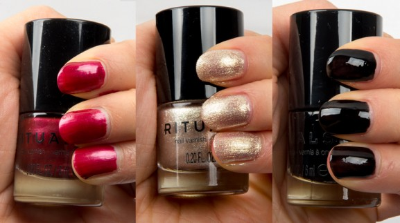 Rituals-Nagellak-Rood-goud-zwart-Diwali-Delight-Limited-edition