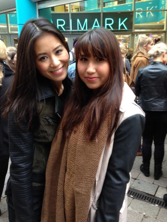 Shoppen bij opening Primark Arnhem met Samantha zusjes van de mode en Charlotte
