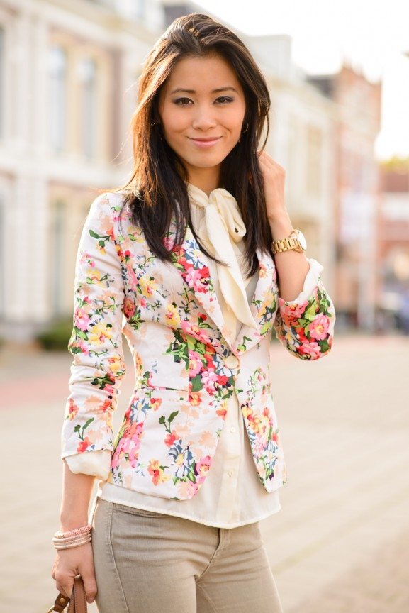 flower-blazer-blouse-sheinside-my-huong