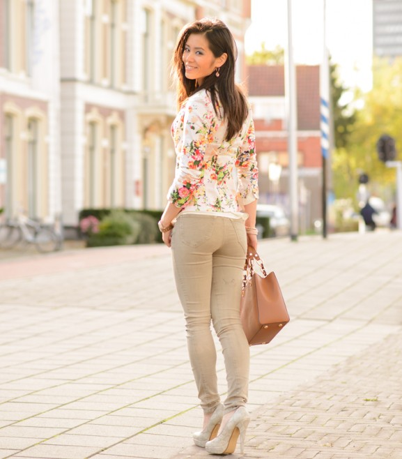 my-huong-blazer-flowers-michael-kors-577x658 Outfit: Floral Blazer