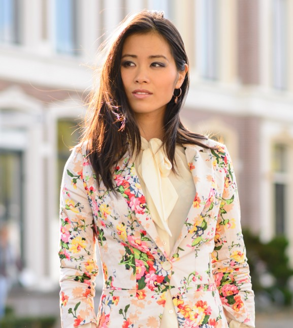 sheinside-flower floral-blazer-print-look