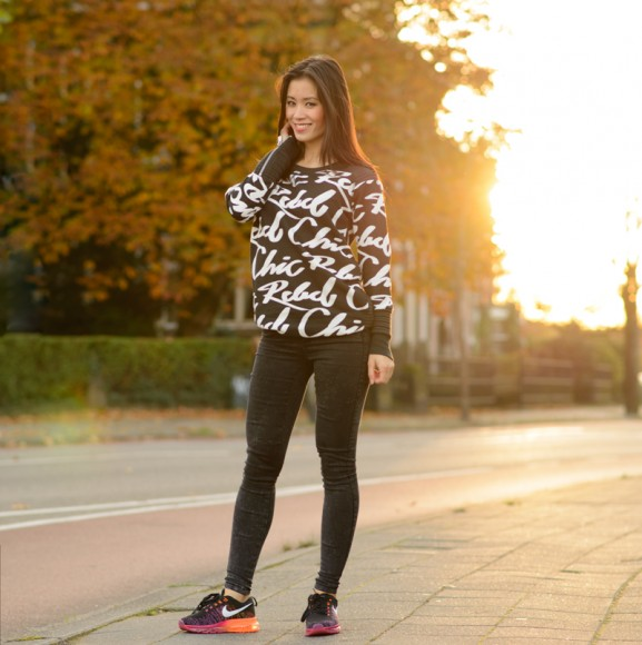 My-Huong-rebel-chic-fashion-bloggr-577x580 Outfit: Rebel chic in Nike Flyknit Air Max