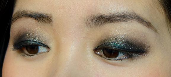 Oogschaduw-look Givenchy Folie de Noirs Kerstcollectie 2014