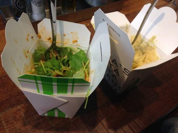 Pasta-julias-577x432 Diary pic's: Opening Primark,  Mi Moneda, Bullboxer en gezellige avonden