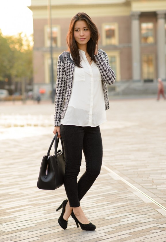 my-huong-black-white-mango-blouse-bag-object-top