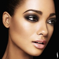 smokey eye look soft romantic