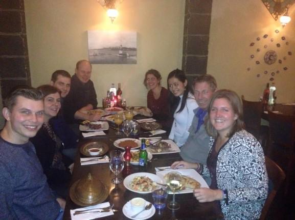 Bosporus Turks eten