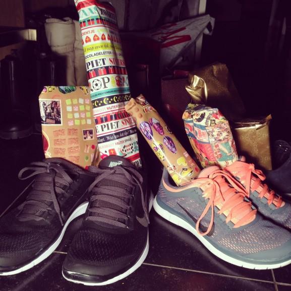 Schoen gezet voor sinterklaas