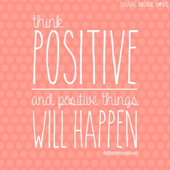 think-positive-577x577 11x inspirerende quotes waar je blij van wordt