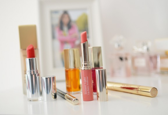 Clarins-Lipstick-577x395 Clarins make-up lente 2015