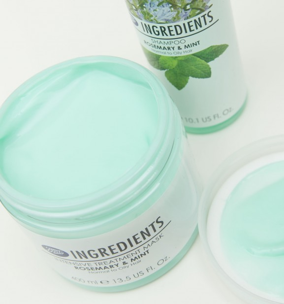 Rosemary mint Treatment Mask boots