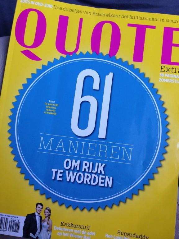 Leesvervoer-Quote-Tijdschrift-61-Manieren-om-rijk-te-worden-e1429479961315-577x769 Diary april 2015: pasen, lekker eten, vrienden & dagjes weg