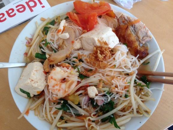 Lekkere vietnamnese Lunch