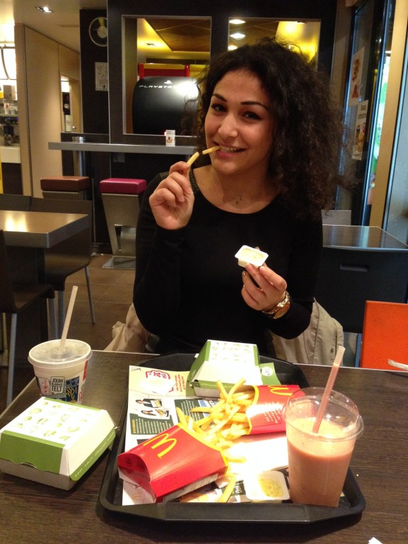 Na week sporten een cheatday mc donalds iyt is