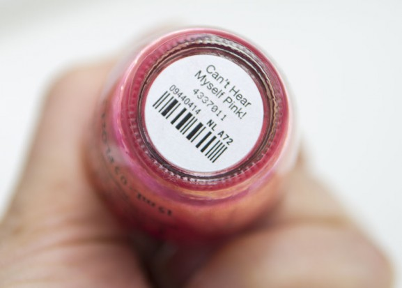cant-hear-myself-pink-577x413 OPI Can't Hear Myself Pink!