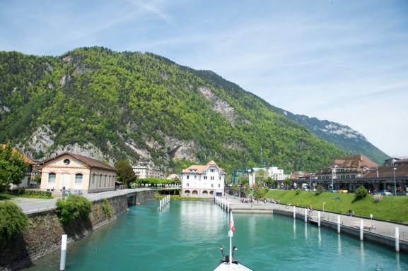 Zwitserland boot trip