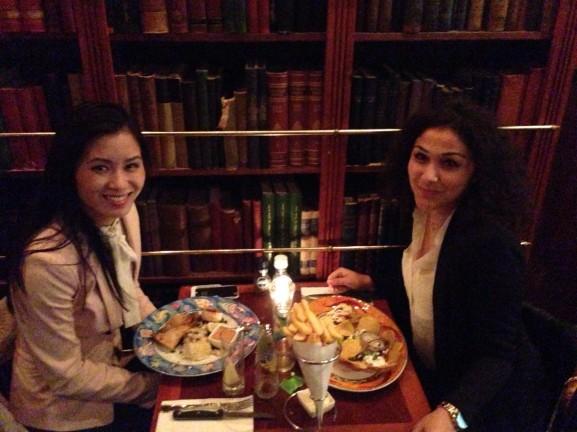 Lara en My in yutrecht eten