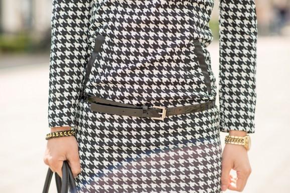 Pied-de-poule-dress-577x385 Outfit: Pied de Poule jurk