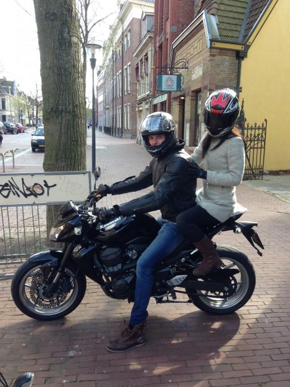 Stephan-lanen-motor-rijden-e1431258302135-577x769 Diary: Koningsdag, Haarshow Goldwell & Moederdag