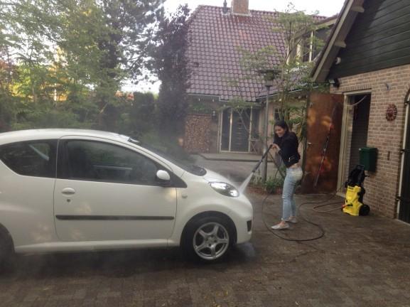 Hogedrukspuit Peugeot!