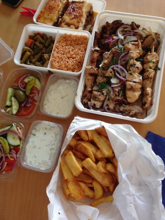 Grieks eten afhaal met Kai