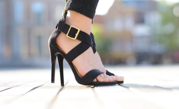black-primark-pumps