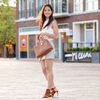 my-huong-outit-michael-kors-brown