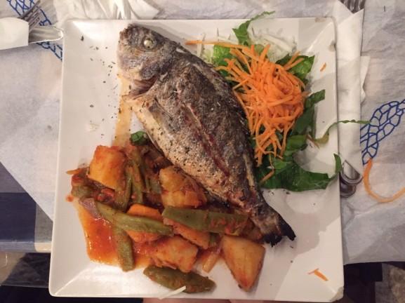 Lekker vis in griekenland