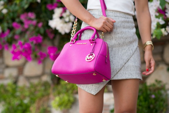 michael-kors-fuchia-pink-satchel-bag