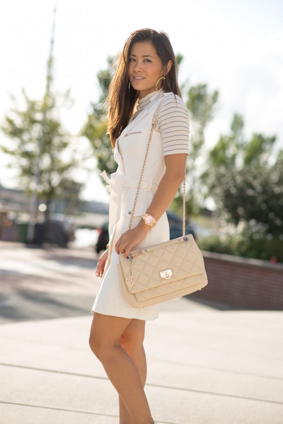 Creme-white-Look-DNKY-Blogger