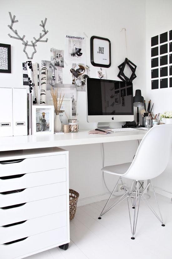 bureau imac  room desk