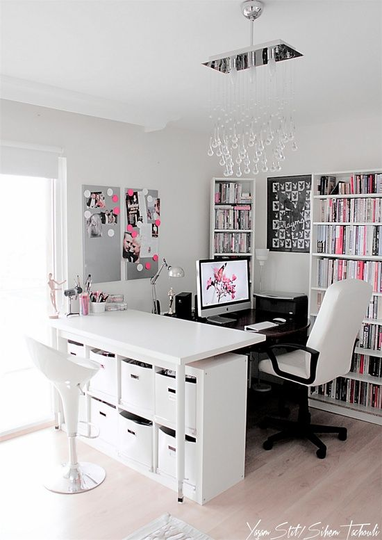 ikea room  pink imac