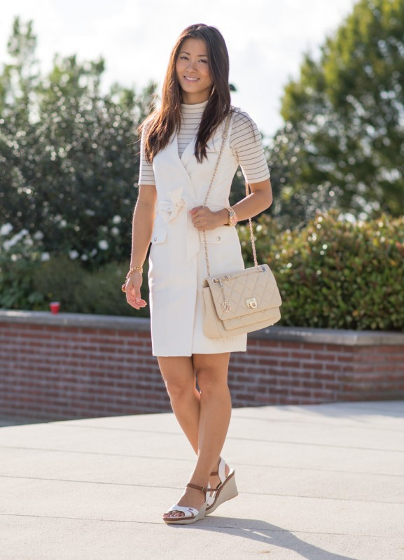 my-huong-look-outfit-creme-white-dkny