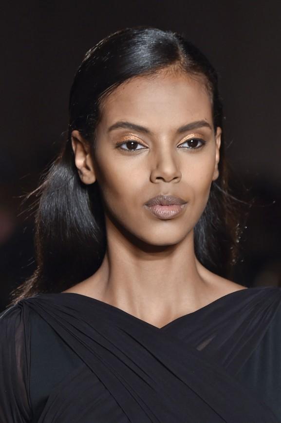 Bronze oogschaduw eyeshadow make up trends fall 2015