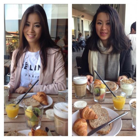 Lunchen met Kai