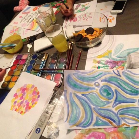 Schilderen-bij-Linda-577x577 Diary: de laatste vrije dagen