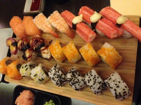 Sushi-bij-Tao-577x432 Diary: de laatste vrije dagen