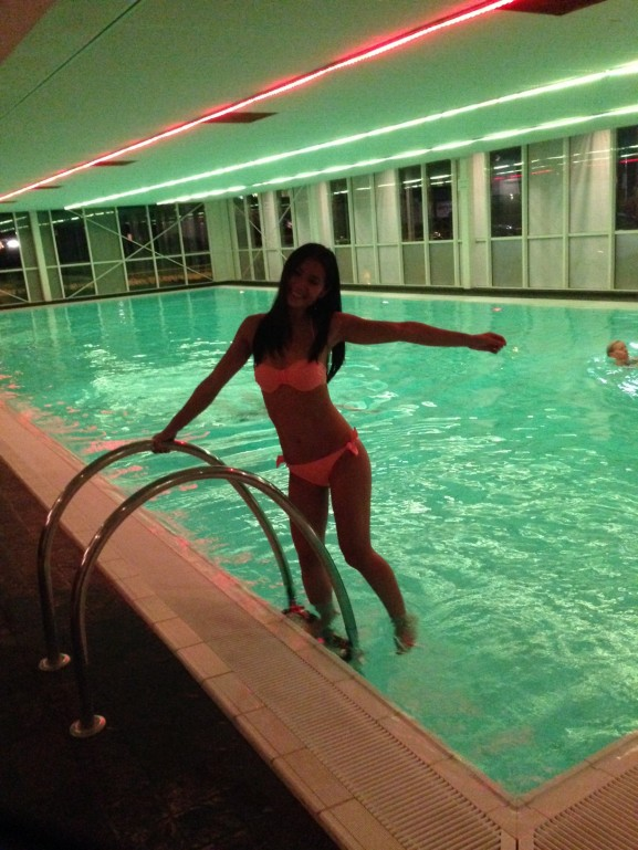 Gym welness zwembad
