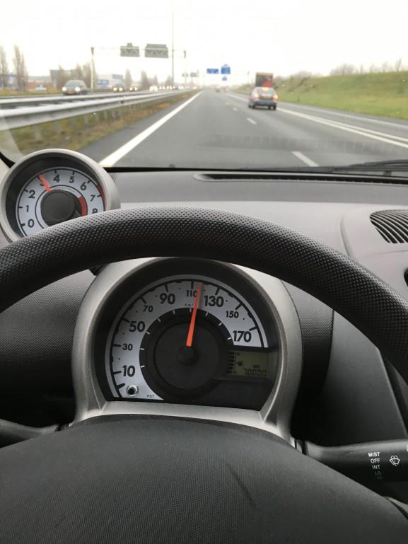 70k op de teller Peugeot 107 desktop