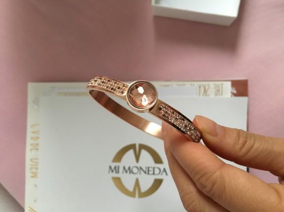 Mi Moneda Rose armband