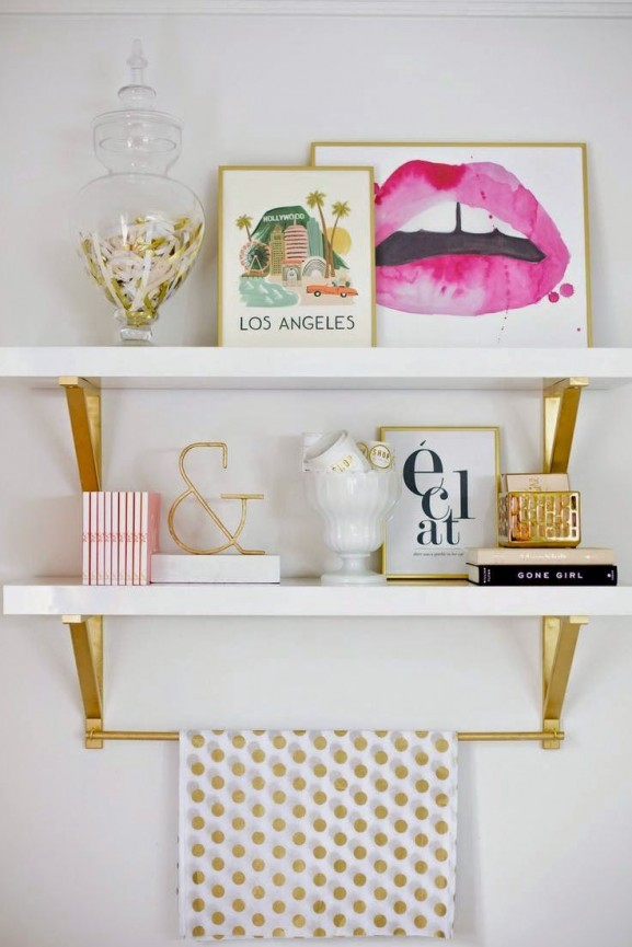 styling home deco White and Gold