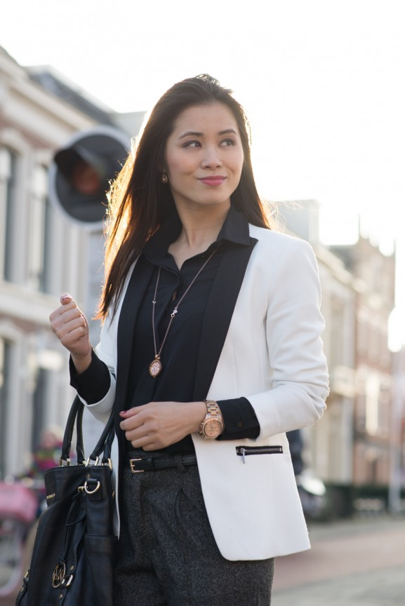 my-huong-business-look-outfit-blazer-577x864 Outfit: the black white blazer